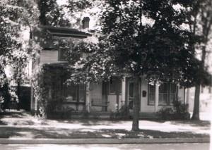 The Harnois home (circa 1930)