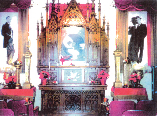 Chapel of the Dove in 1988.  Click on image to be taked to article about the Chapel.